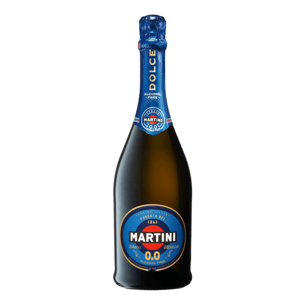 Martini Dolce 0.0 (Alcohol Free) Sparkling 750ml (Freebie)