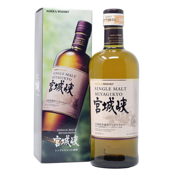 Nikka Miyagikyo Single Malt 700ml - Boozy.ph