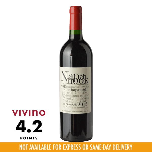 Napanook Napa Valley 2015 750ml - Boozy.ph