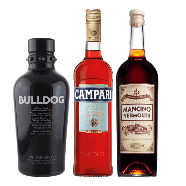 Negroni Cocktail Pack (Bulldog Gin)