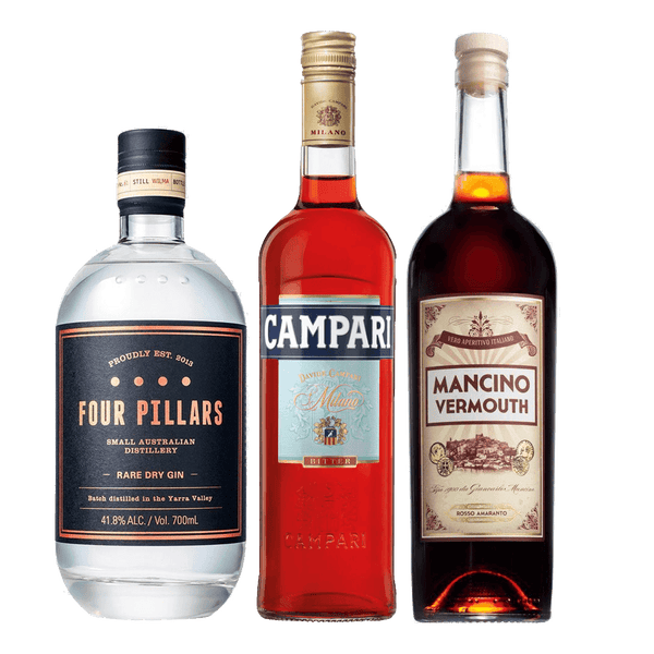 Negroni Cocktail Pack (Four Pillars Gin)