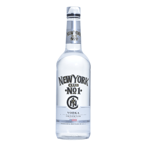 New York Club Vodka 750ml - Boozy.ph