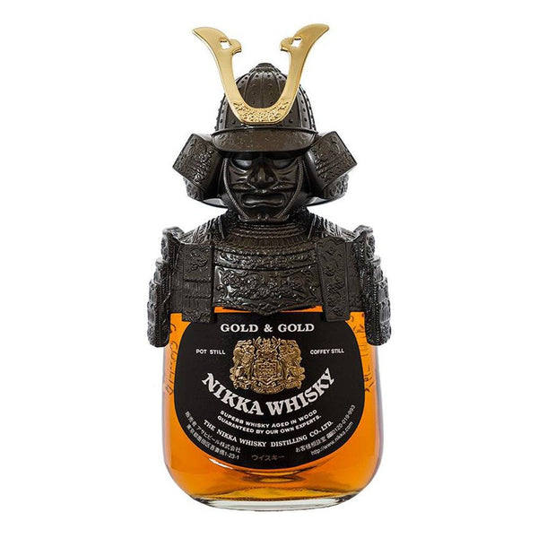 Nikka Gold & Gold Samurai Edition 750ml - Boozy.ph