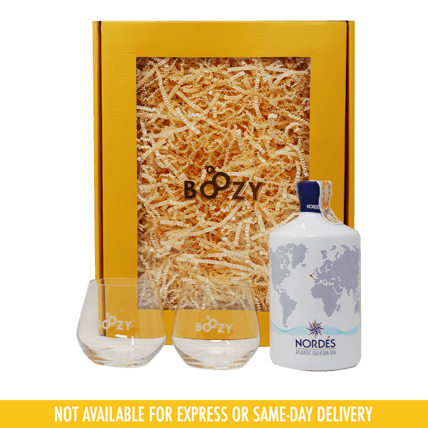 Nordes Gin 700ml 2-Glass Holiday Gift Set