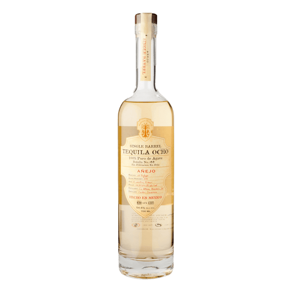 Ocho Tequila Single Barrel Añejo 100% Agave 700ml