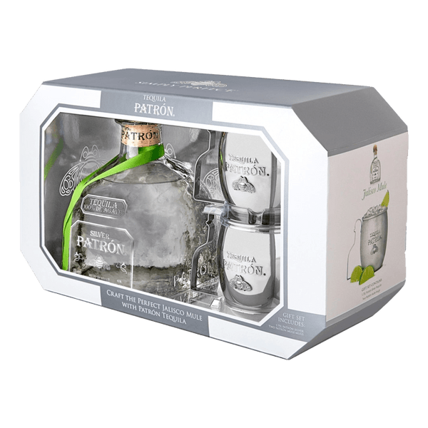 Patrón Silver 750ml Limited Edition Mule Mug Gift Set - Boozy.ph