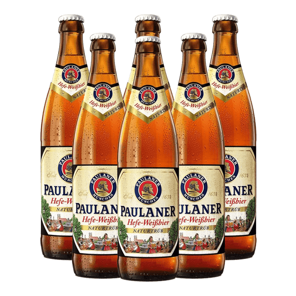Paulaner Hefe-Weisbier 500ml Bundle of 6