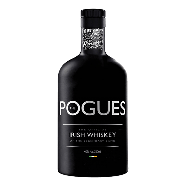 Pogues Blended Irish Whiskey 700ml - Boozy.ph