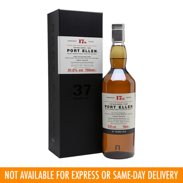 Port Ellen 37yo 17th Release 700ml - Boozy.ph
