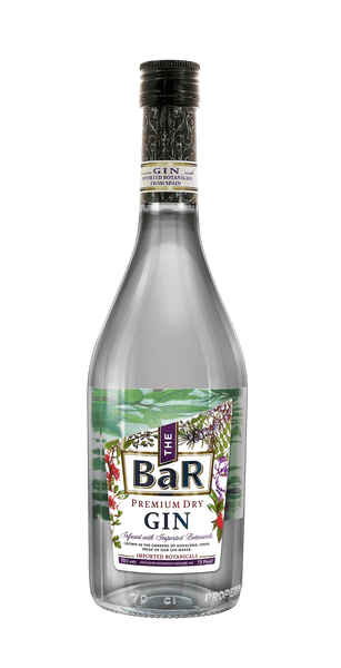 The BaR Premium Dry Gin 700ml - Boozy.ph