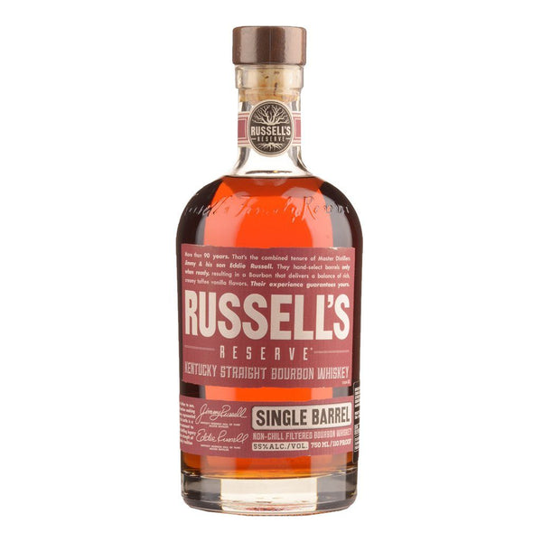 Russel's Reserve Single Barrel 750ml - Boozy.ph