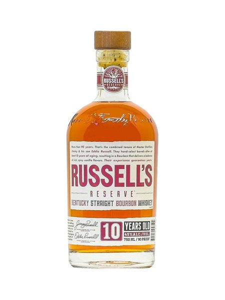 Russel's Reserve 10yo 750ml - Boozy.ph