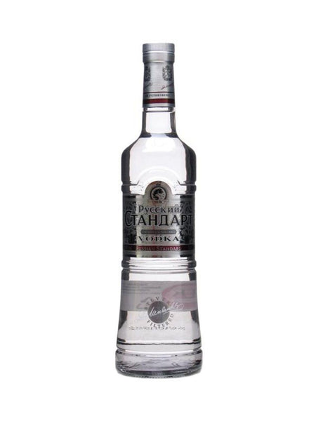 Russian Standard Platinum 700ml - Boozy.ph