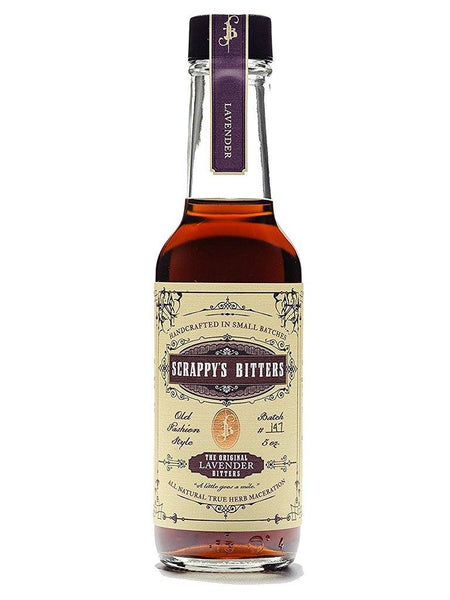 Scrappy's Lavender Bitters 148ml - Boozy.ph