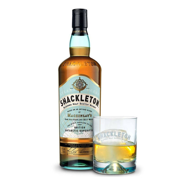 Shackleton Blended Malt Scotch Whisky 700ml w/ free Boss Glass - Boozy.ph