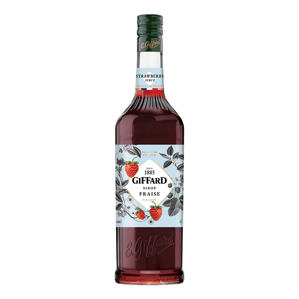 Giffard Syrups Strawberry 1L - Boozy.ph