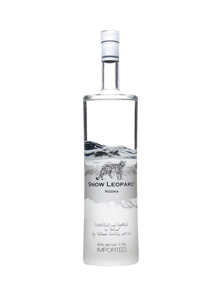 Snow Leopard Vodka 1.75L - Boozy.ph