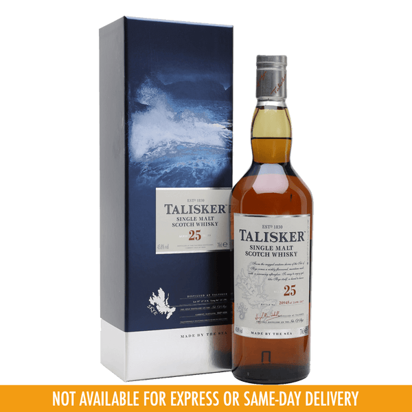 Talisker 25YO 700ml - Boozy.ph