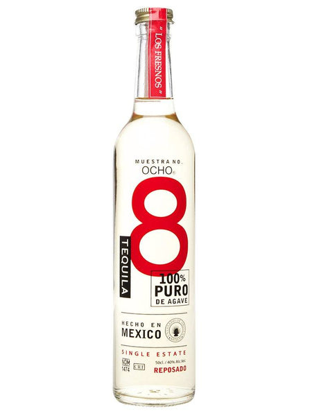 Ocho Tequila Reposado 100% Agave 500ml - Boozy.ph