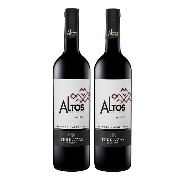 Terrazas Altos Del Plata Malbec 750ml Bundle of 2