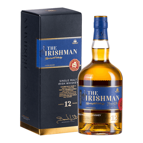 The Irishman 12yo 700ml - Boozy.ph