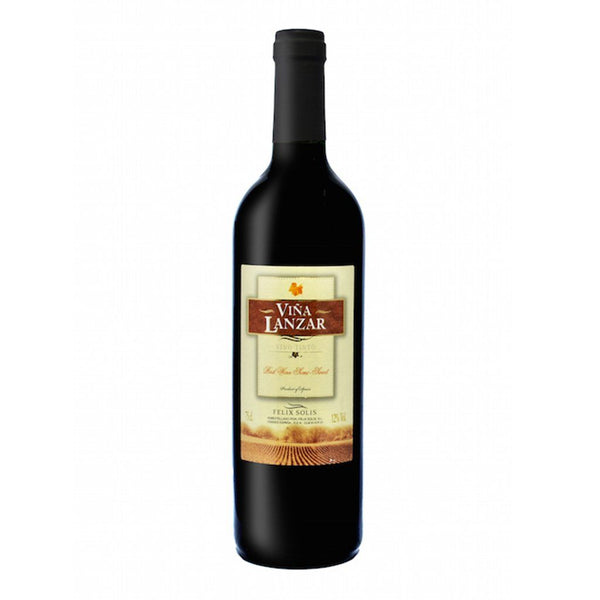 Vina Lanzar Semi-Sweet Red 750ml - Boozy.ph