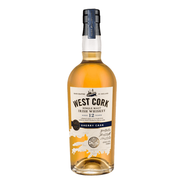 West Cork Single Malt 12YO Sherry Cask Finish 700ml - Boozy.ph