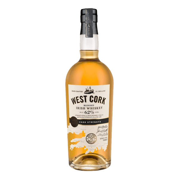 West Cork Cask Strength 62% 700ml - Boozy.ph