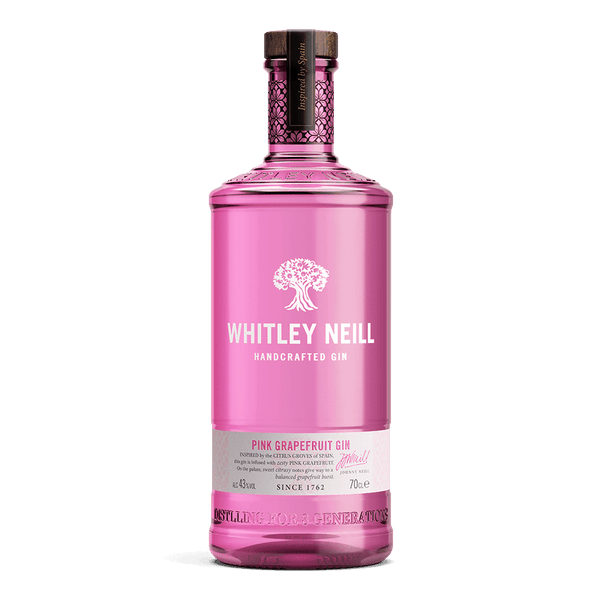 Whitley Neill Pink Grapefruit Gin 700ml - Boozy.ph