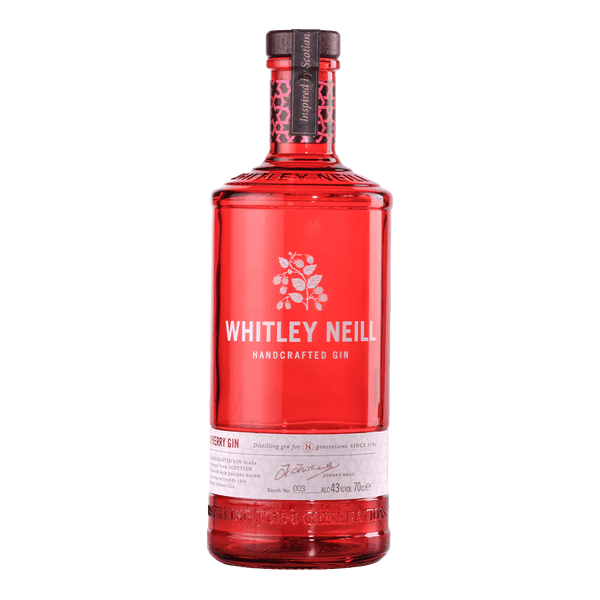 Whitley Neill Raspberry Gin 700ml