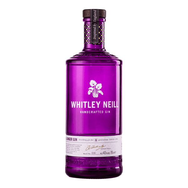 Whitley Neill Rhubarb & Ginger Gin 700ml - Boozy.ph