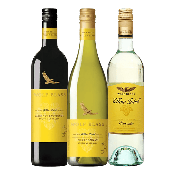Wolf Blass Yellow Label Trio