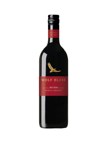 Wolf Blass Red Label Shiraz Cabernet Sauvignon 750ml - Boozy.ph