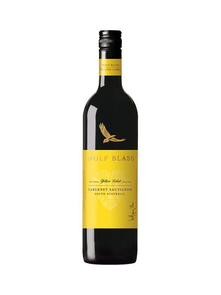 Wolf Blass Yellow Label Cabernet Sauvignon 750ml Wine