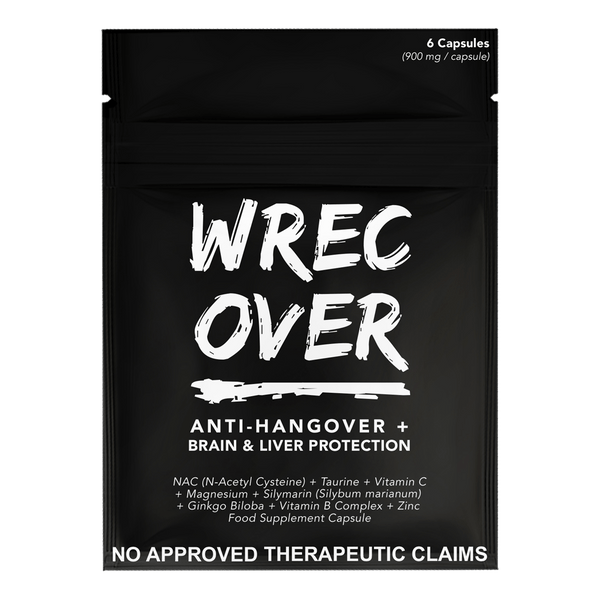 WrecOver On-the-Go (6 capsules) - Boozy.ph