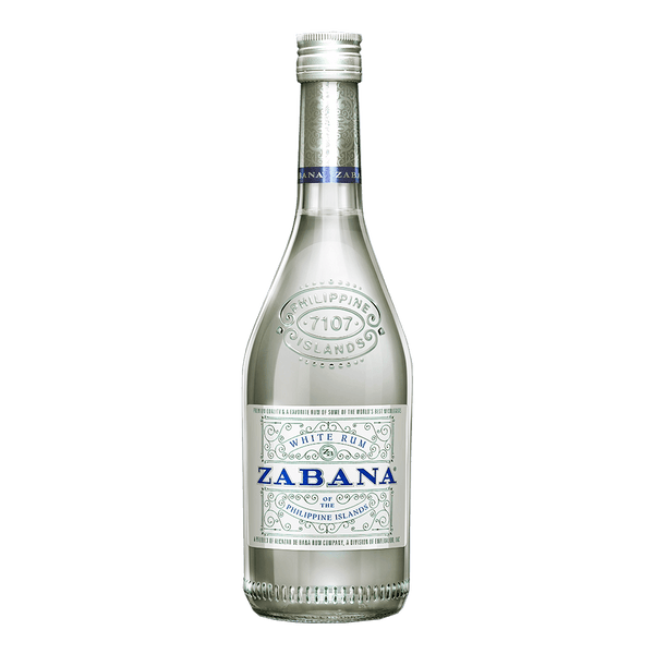 Zabana White Rum 700ml - Boozy.ph