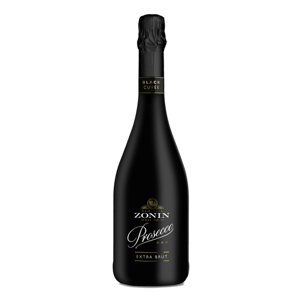 Zonin Prosecco Black 750ml - Boozy.ph
