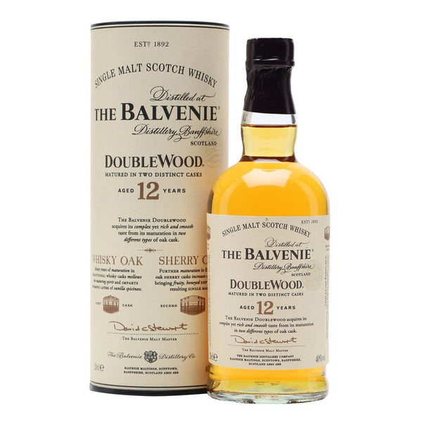 Balvenie 12yo Double Wood 700ml - Boozy.ph