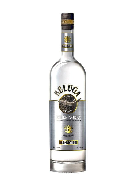 Beluga Vodka Noble Russian 700ml - Boozy.ph