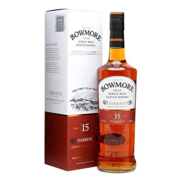 Bowmore 15yo 700ml - Boozy.ph