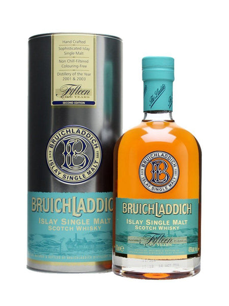 Bruichladdich 15yo 700ml Scotch Whisky Single Malt