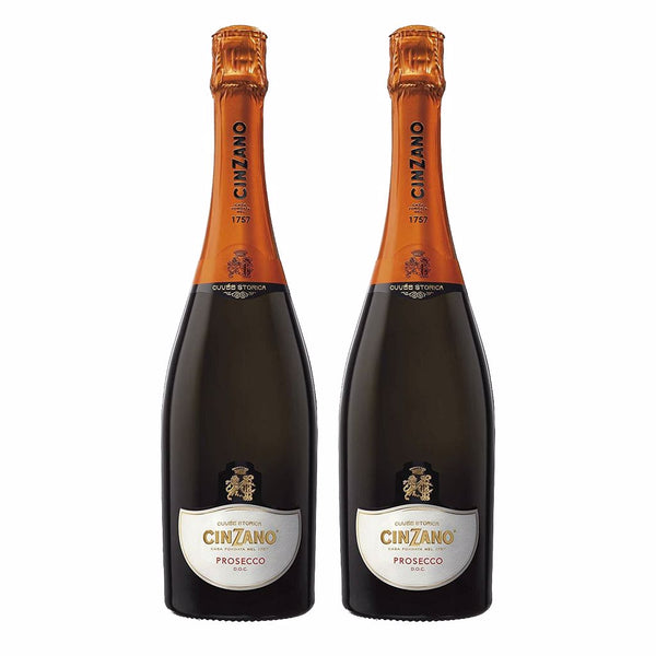 Cinzano Prosecco Bundle of 2