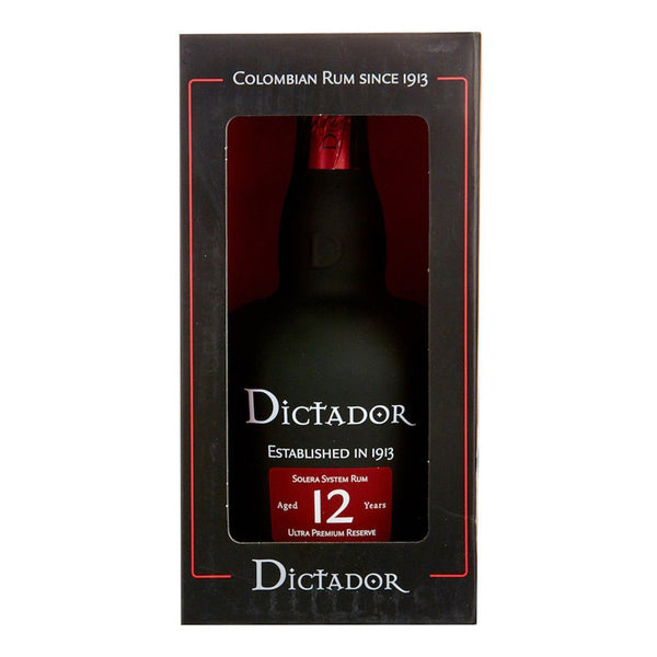 Dictador Rum 12yo 700ml - Boozy.ph
