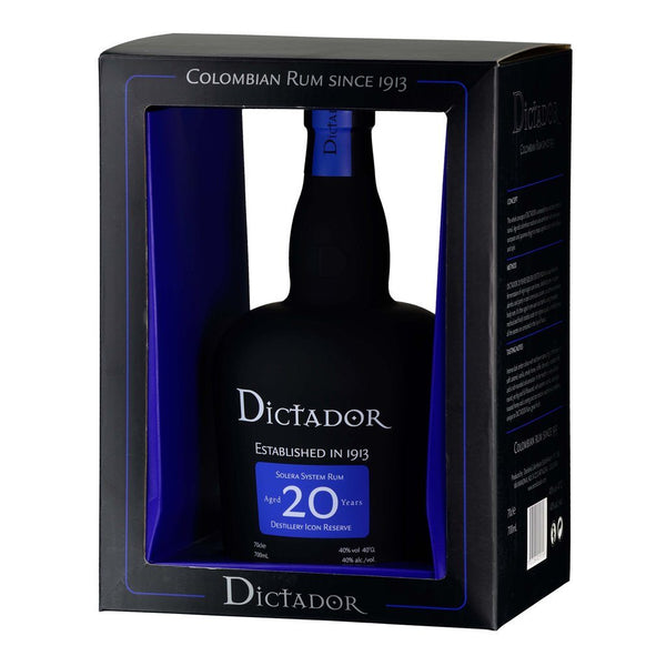 Dictador Rum 20yo 700ml - Boozy.ph