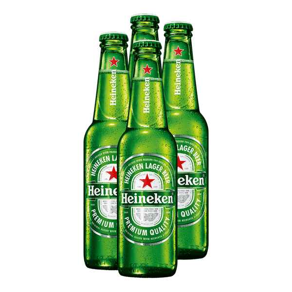 Heineken 330ml Bundle of 4 Bottles - Boozy.ph