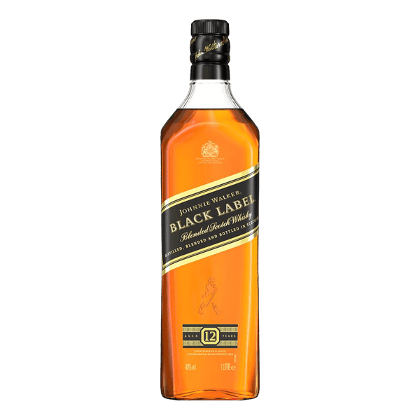 Johnnie Walker Black Label 1L - Boozy.ph