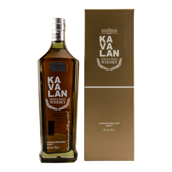 Kavalan Distillery Select 700ml - Boozy.ph