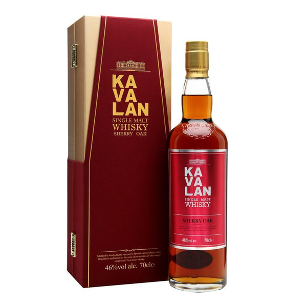 Kavalan Sherry Oak 700ml - Boozy.ph