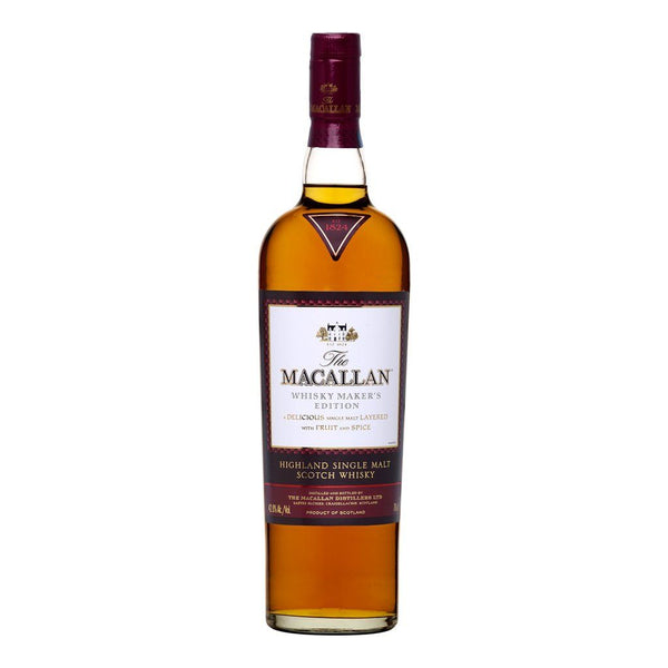 Macallan Whisky Makers Edition 700ml - Boozy.ph