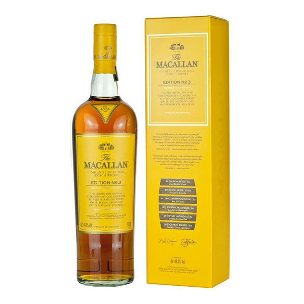 Macallan No. 3 Edition 700ml - Boozy.ph